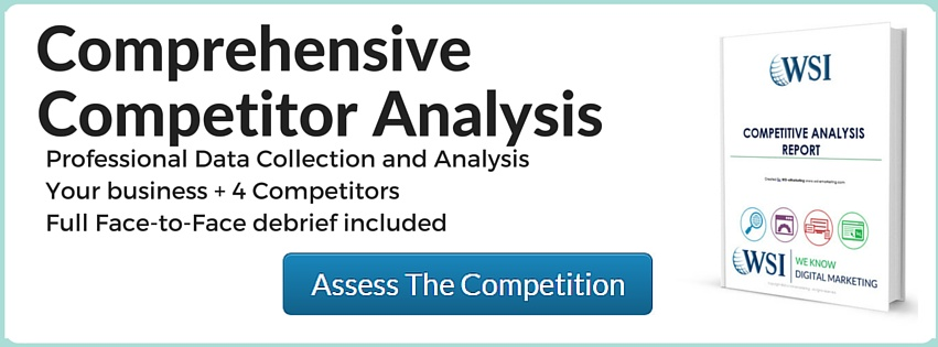 Key Components of a Digital Marketing Competitor Analysis - WSI - competitor analysis report