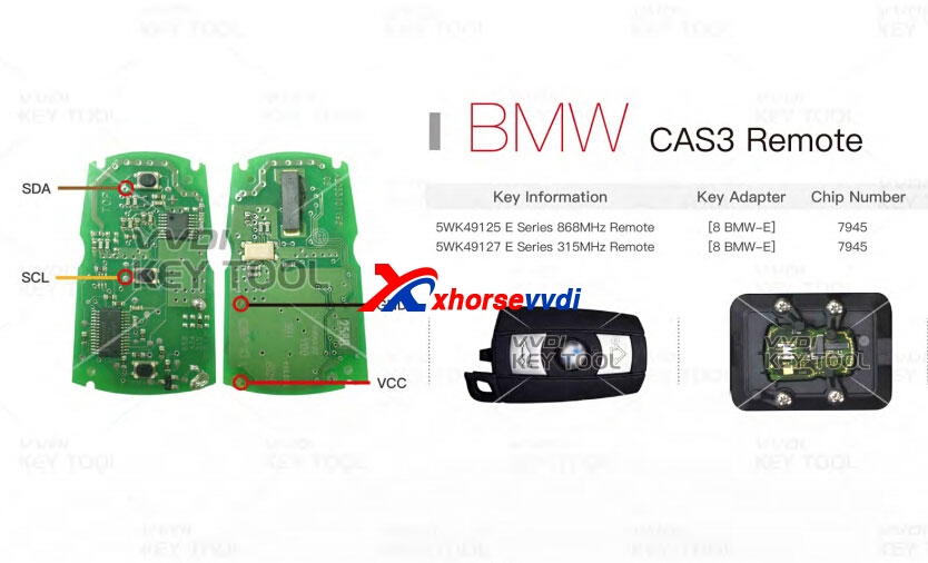 VVDI Key Tool Unlock Remotes (Wiring Diagram attached) XhorseVVDI