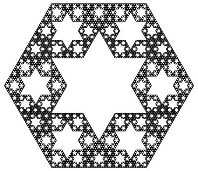 hex-fractal