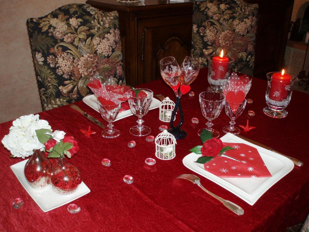 Pliage Serviette Bain Ma Table De La St Valentin 2012 (blog Zôdio)