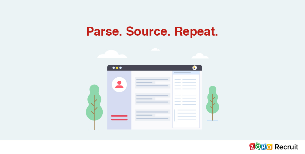 Parse Candidate Resumes As And When You View Them « Zoho Blog