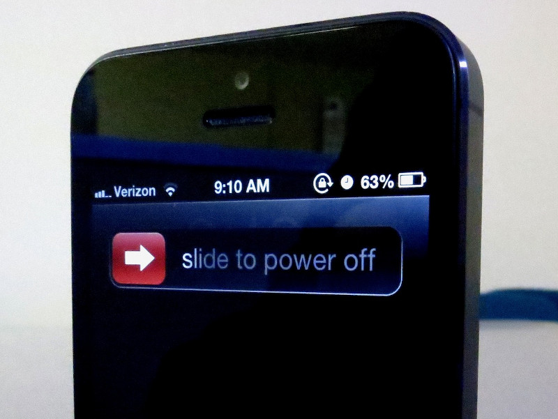 turning off phone - Selol-ink - turning off phone
