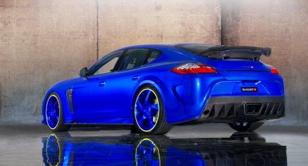 Ken Block Hd Wallpaper Porsche Panamera Turbo By Mansory Hard Et Attention