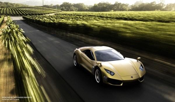 Lamborghini Supercar Concept 44 600x350 Lamborghini Design concept par Alex Imnadze : rafraichissant !
