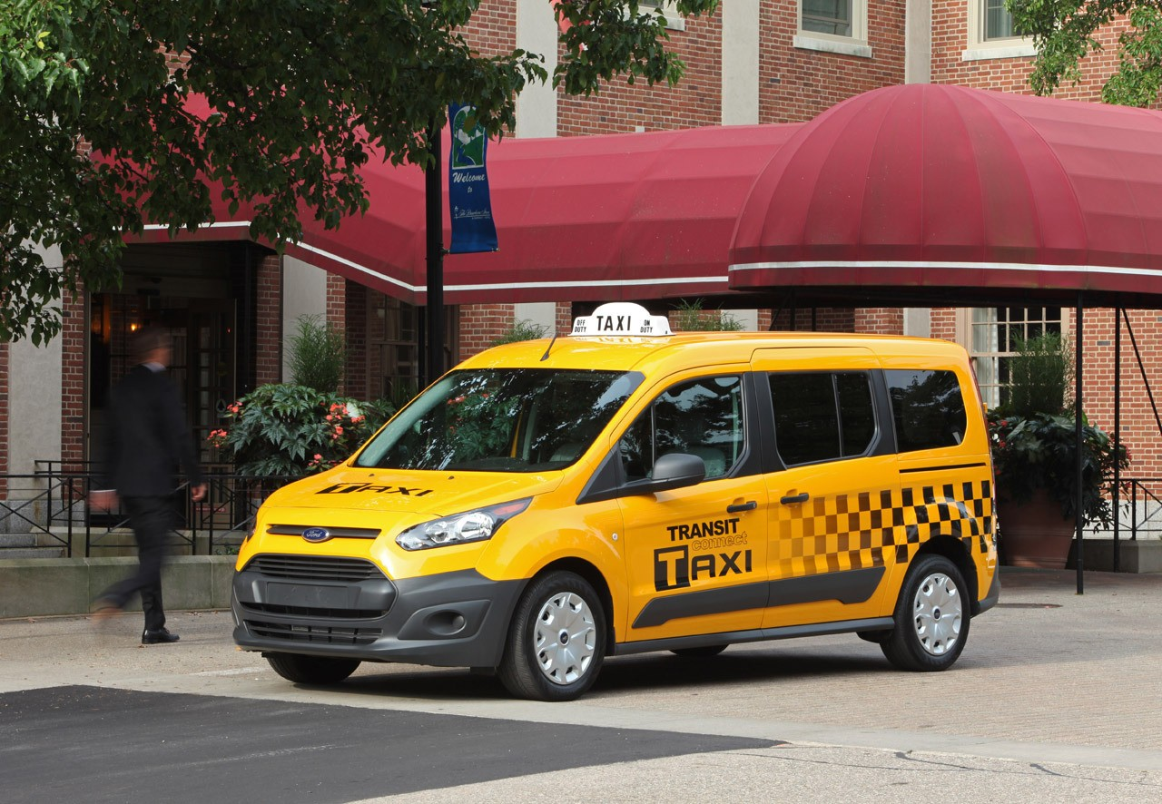 Taxi Camionnette Ford Transit Connect Taxi 1 Jpg
