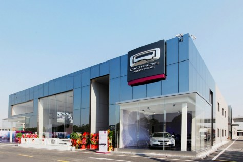Photo  Qoros : Laventure commerciale débute à Shanghai
