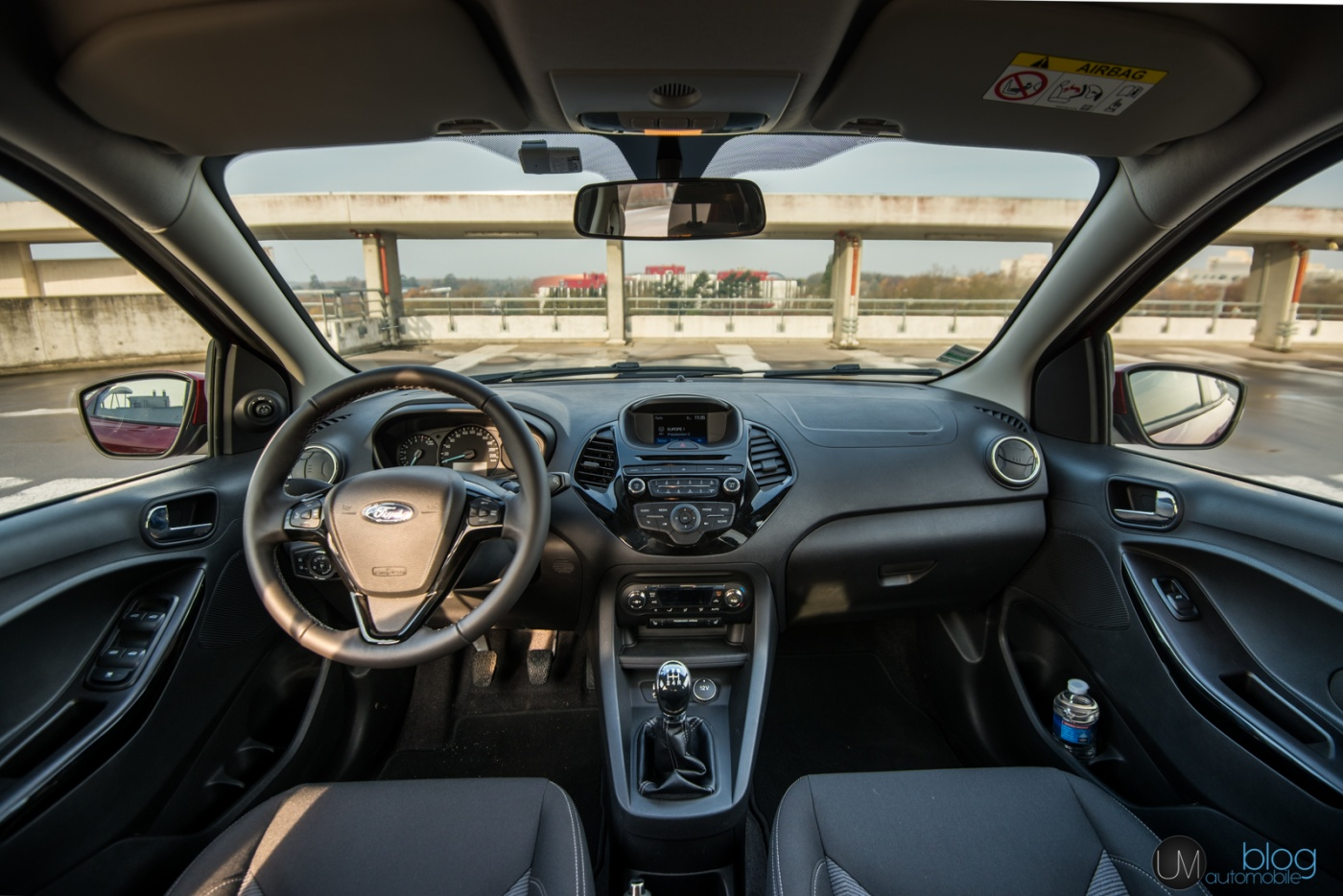 Ford K Interieur Essai : Ford Ka+ultimate 85ch - Blog Automobile