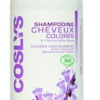 J'ai testé : le shampoing pour cheveux colorés Coslys.