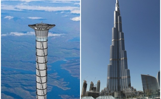 World S First Space Elevator To Be Taller Than Dubai S Burj Khalifa