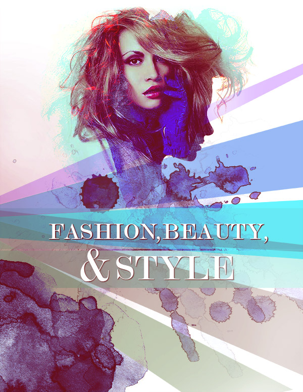 Simple Steps To Create a Fashion Poster - 123RF