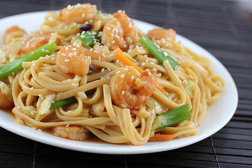 Shrimp Lo Mein Recipe Blogchefnet