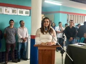 Prefeita Elissandra Brito (DEM).