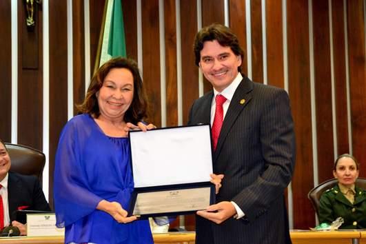 Rizza e o deputado estadual George Soares (Foto:arquivo)