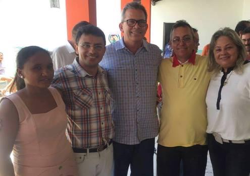Maria Zefirino, Reginaldo Dantas, Hermano Morais , Chico de Salete e Suely