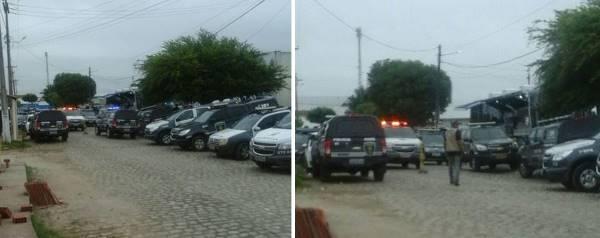 Fotos da operação viajante publicadas no WhatsApp)