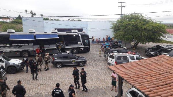 190 policiais participam da operação Viajante que já prendeu 18 pessoas (Foto: PC/assecom)