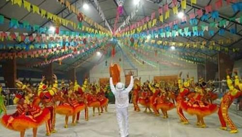 Grupo campeã do Festival de Quadrilhas Juninas de João Câmara