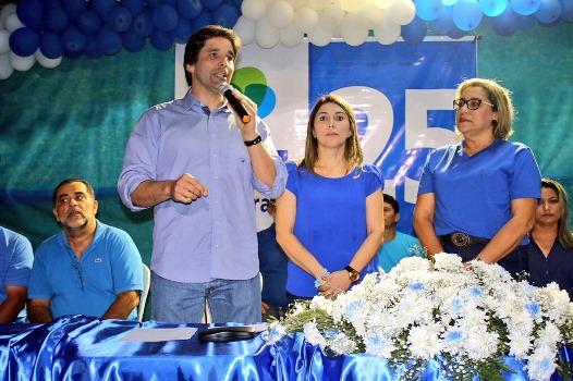 Deputado Felipe Maia prestigia convenção do DEM em Parazinho