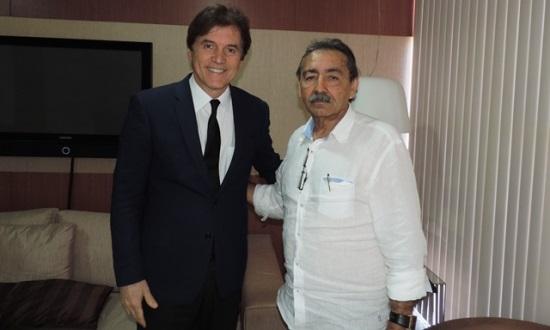 Governador Robinson Faria e o deputado José Adécio