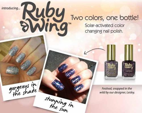 Ruby Wing Color Changing Nail Polish Le Blog De Chanty