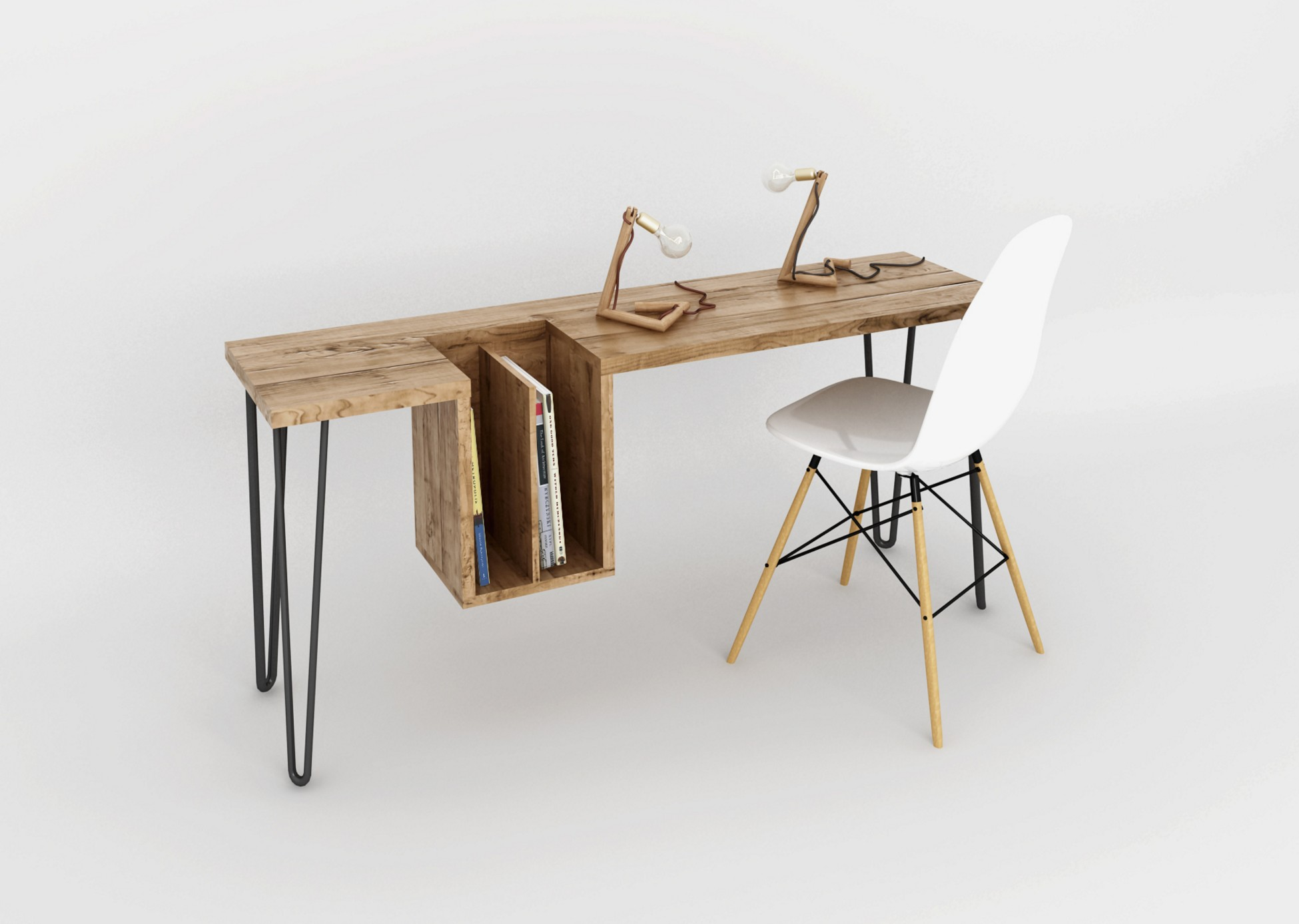 Bureau Bois Design Bureau High Table Par Ehoeho - Blog Déco Design