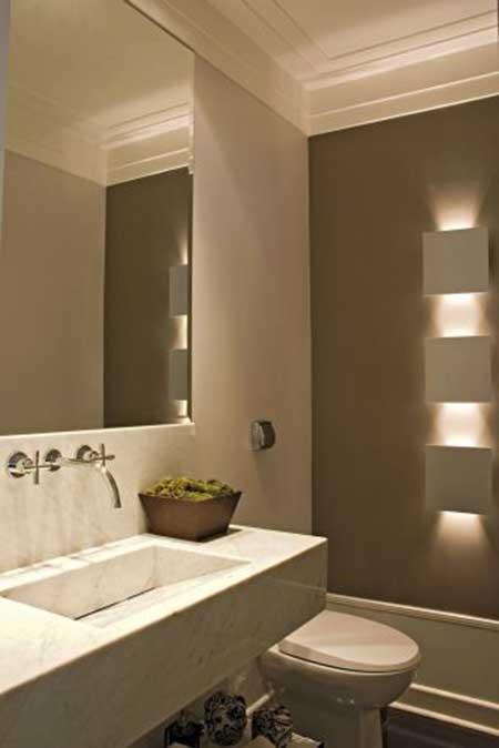 Lavabos veja projetos charmosos para esses pequenos espaços Tinta - lavabos pequeos