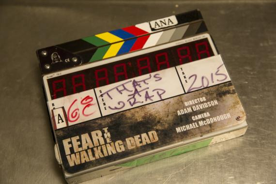 Imagen del set de Fear The Walking Dead