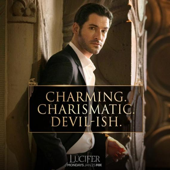 Watched Lucifer From Fox S1e1: Lucifer Estreno 25/01/2016