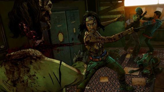 Imagen del juego The Walking Dead: Michonne (2016), de Telltale
