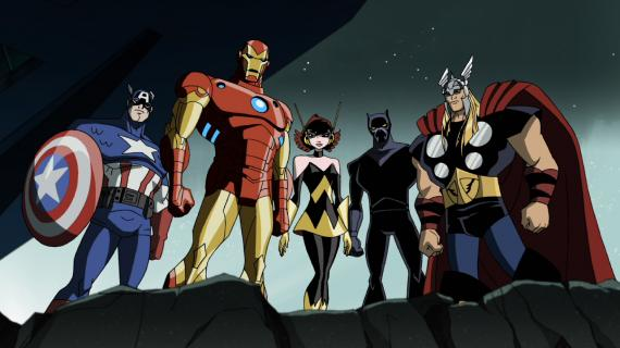 Imagen de la primera temporada de The Avengers: Earth's Mightiest