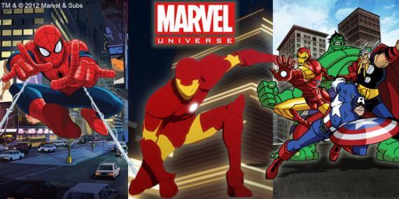 Marvel Universe llega este fin de semana a Disney XD España con Ultimate Spider-Man, The Avengers: Earth's Mightiest Heroes y m&At