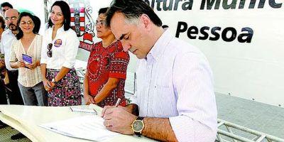 prefeito e João Pessoa, Luciano Cartaxo