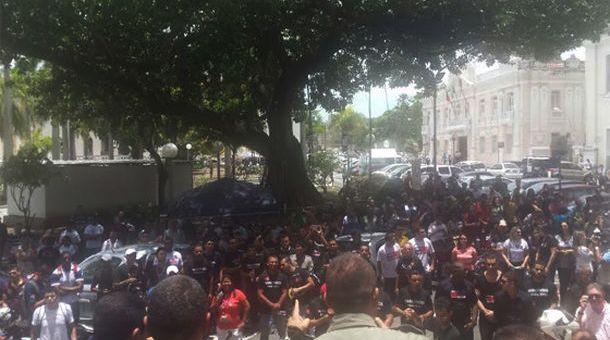 protesto servidores