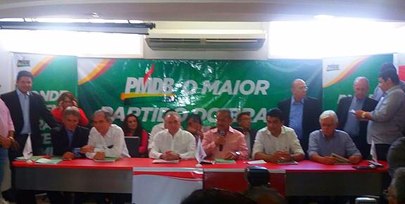 encontro estadual do PMDB