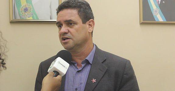 presidente estadual do PT, Charlinton Machado