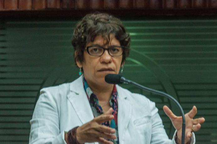 Estela critica vinda de ministro ao Estado e sugere que ele seja recebido com hostilidade