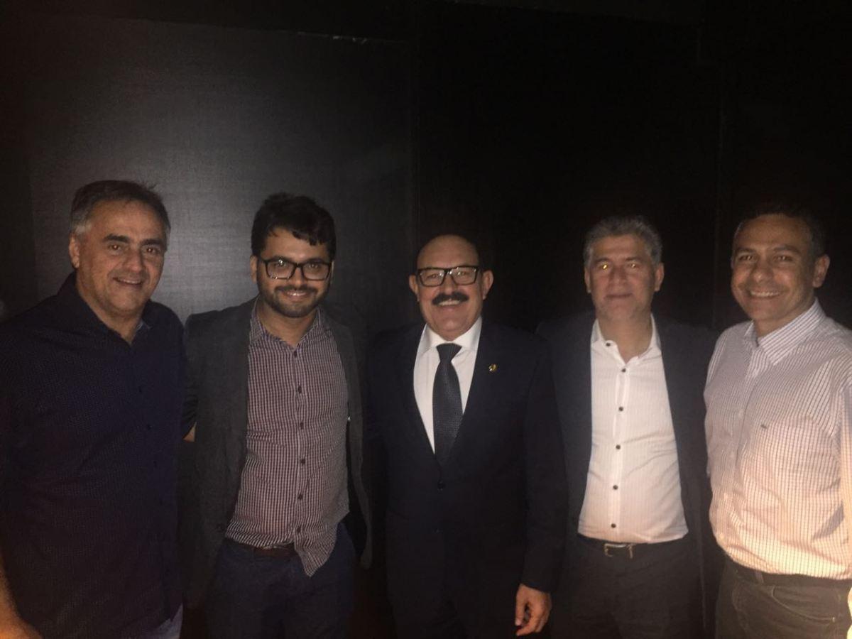Prefeitos eleitos da Região Metropolitan discutem pauta comum com Deca em Brasília