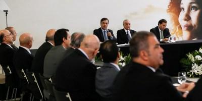 """(Brasília - DF, 12/05/2017) Reunião """"Um Ano de Conquistas""""  Foto: Beto Barata/PR"""