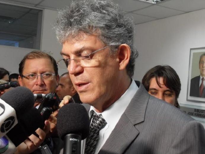 BASTIDORES: Ricardo Coutinho participa de audiência em Fórum Criminal de João Pessoa