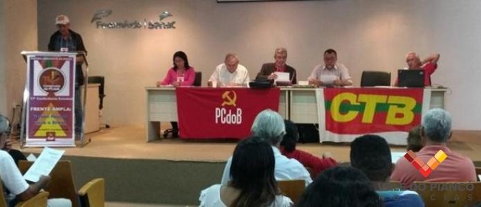 PCdoB apresenta nova Direção Estadual e destaca projeto político para 2018