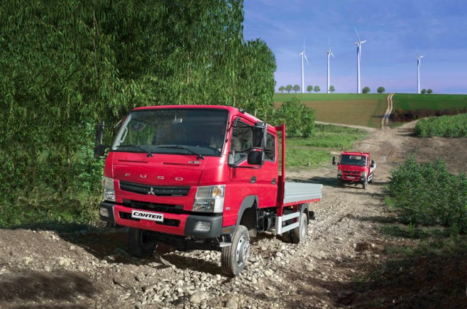 fuso canter 4x4