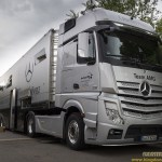 Die Trucks des Mercedes AMG DTM-Team