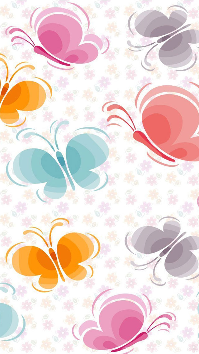 Floral Wallpaper For Iphone 5 D 234 Um Toque Feminino No Seu Iphone Ou Ipad Com Esses