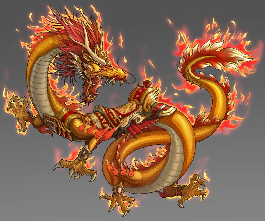 O dragão na sala