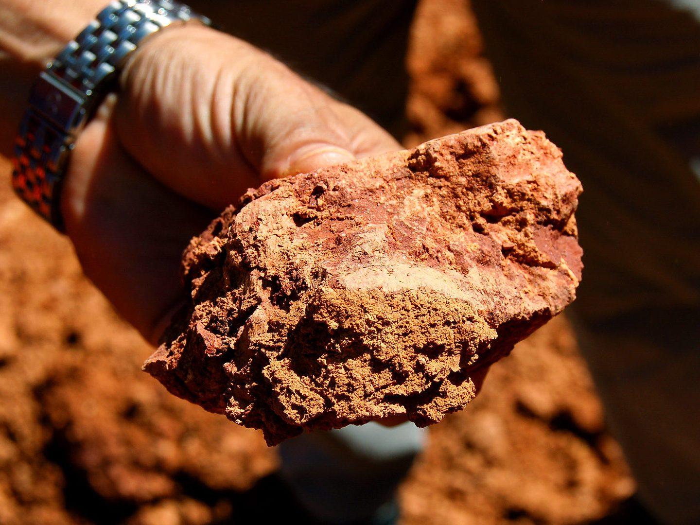 A mineração da bauxita é pop