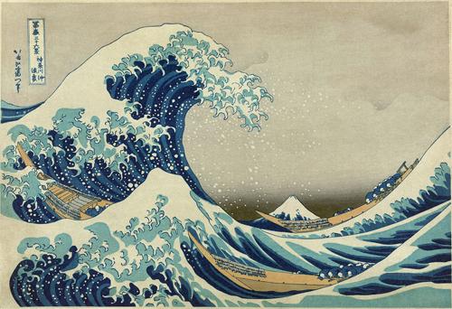 La gran ola de Kanagawa-Katsushika Hokusai, Metropolitan Museum of Art, Nueva York.-arquia-fundacion 500