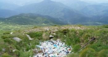 Говерла, сміття