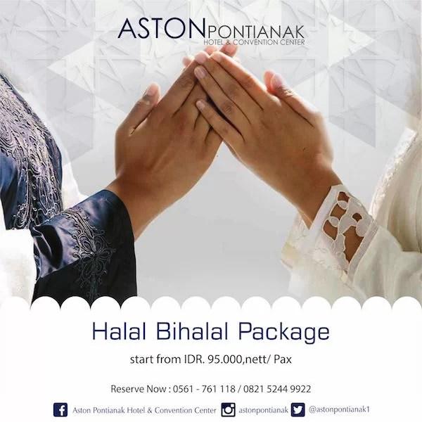 Paket Halal Bihalal Aston Pontianak 2016