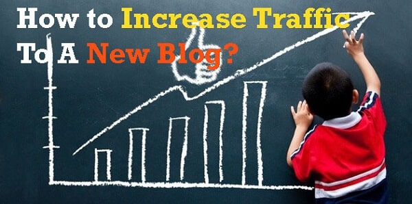 increase traffic to new blog