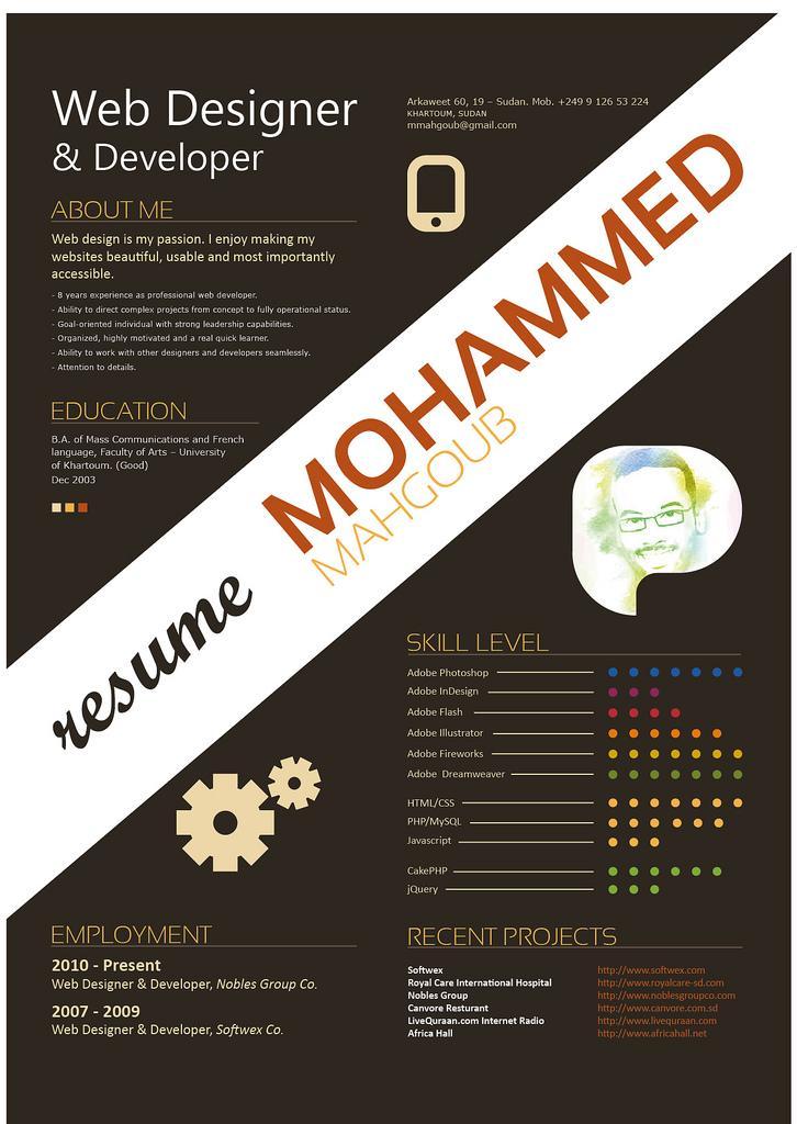 resume font styles